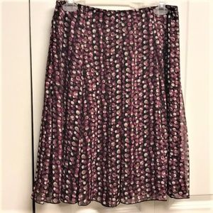 Lily Flare Skirt Size S Polka Dot